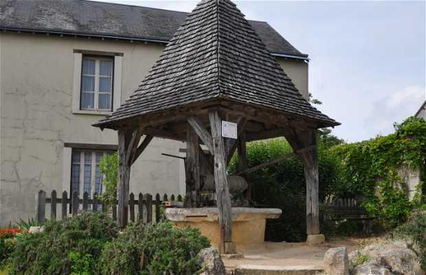 Le puits qui parle, Troo, Francia
