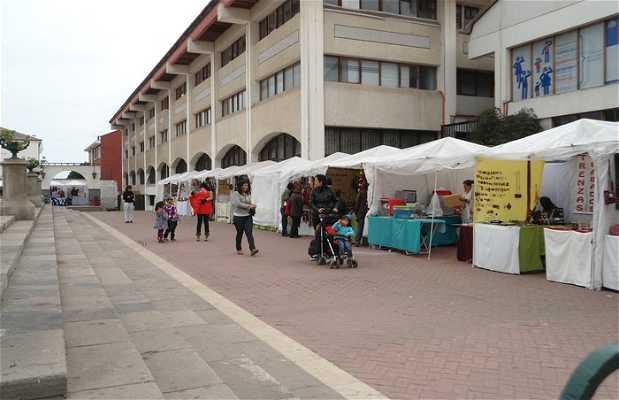 Feria de la plaza Gabriel Gonzalez Videla