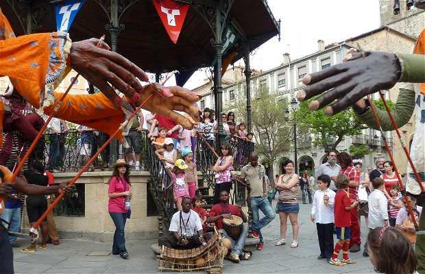 Festival Titirimundi a Segovia