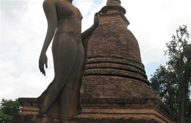 Tempio di Wat Sa Si a Sukhothai
