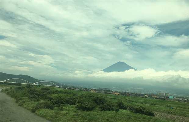 Mount Fuji View from Shinkansen