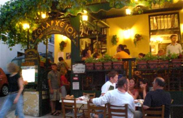 Calle Tripodon de Atenas