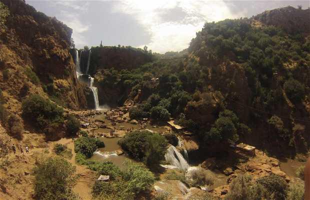 Cascade d'ouzoud Maroc
