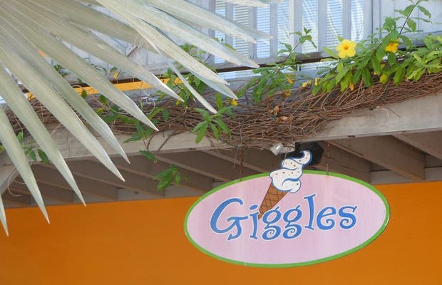 Giggles: ice cream & candy