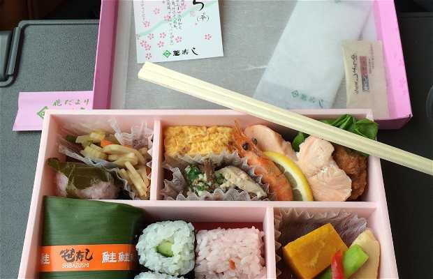 Obento en el shinkansen