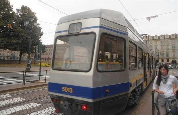 Le tramway de Turin