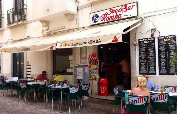 Restaurante romba (tavira) portugal