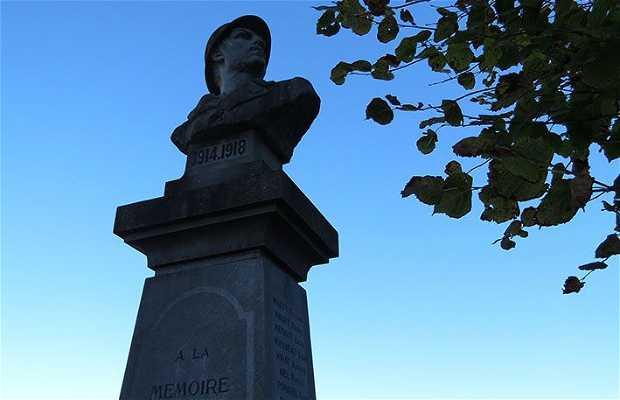 Monument aux morts de Chasteaux