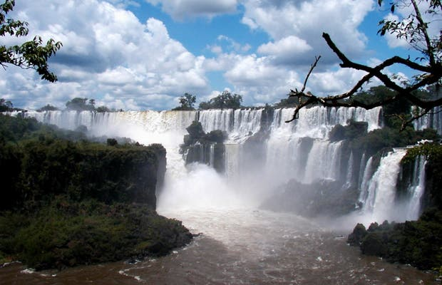 Lower Circuit of Iguazú Falls