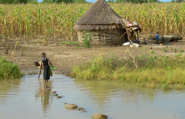 Alrededores de Gambela