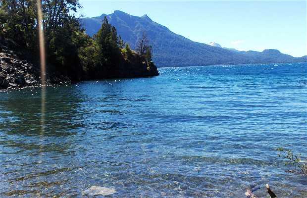 Victoria Island and Lake Nahuel Huapi