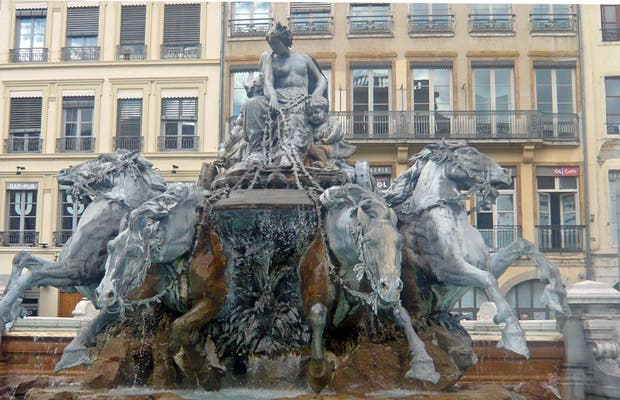 Place des Terreaux Fountain