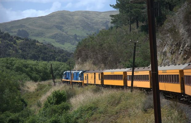 Railway of Taieri Canyon