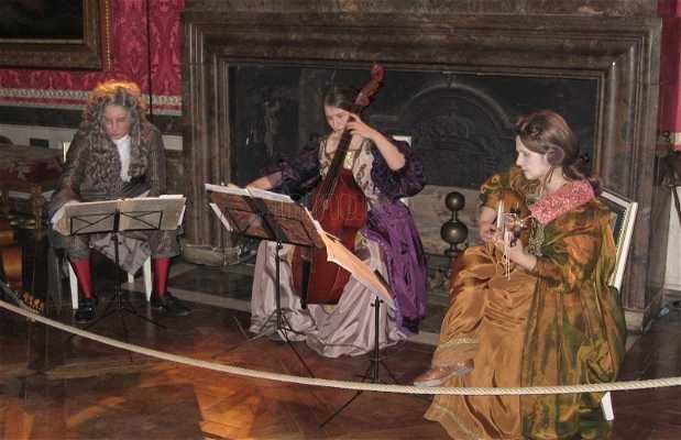 Espectáculo en Versailles