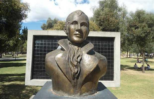 La statue de Humboldt