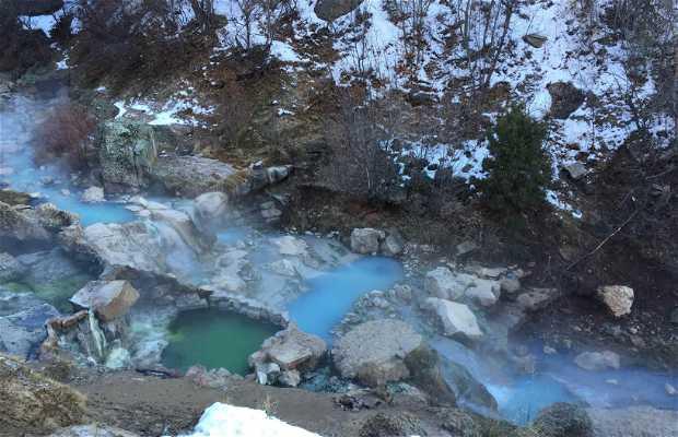 Fifth Water Hot Springs (Diamond Fork)