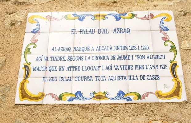 Palacio moro Al-Azraq-Alcalá de la Jobada-