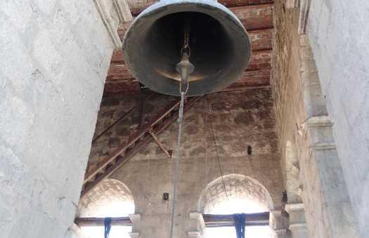 Le clocher de l'église San Francisco