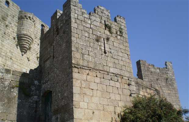 Castello di Lemos a Castro Caldelas