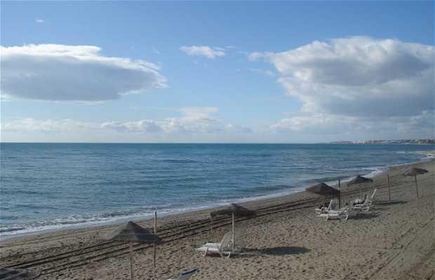 Spiaggia del Faro a Marbella
