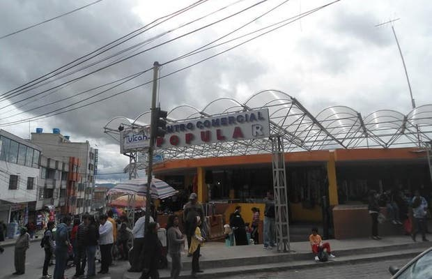 centro commercial Popular