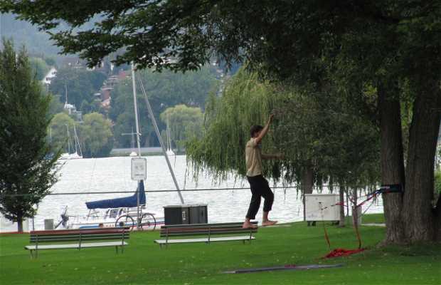 Zürichhorn y Chinagarten