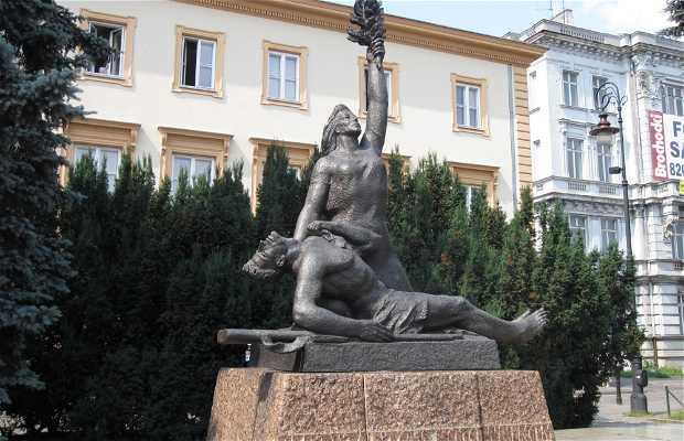 Monumento a los Partisanos de la Guardia del Pueblo