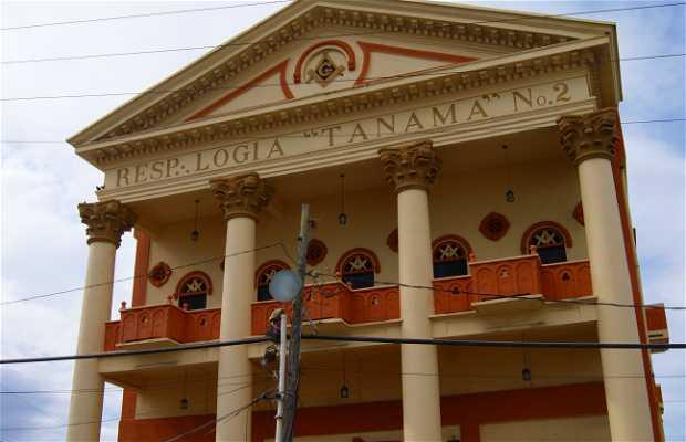 Teatro Oliver y Logias Masónicas