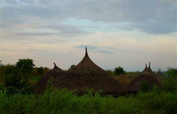 Aldeas del sur de Etiopía