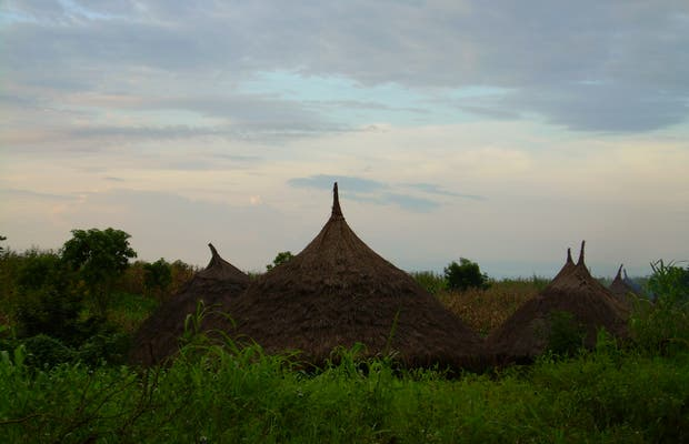 Villaggi del sud Etiopia