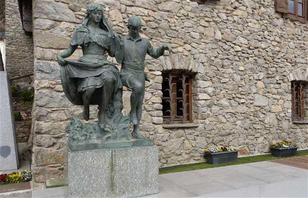 Monumento a la danza de Francesc Viladomat