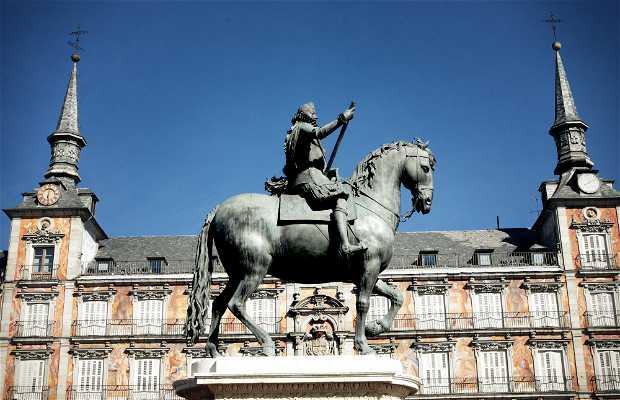 Statua equestre di Felipe III