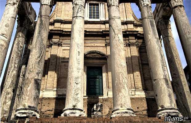 Temple d'Antoine et Faustine