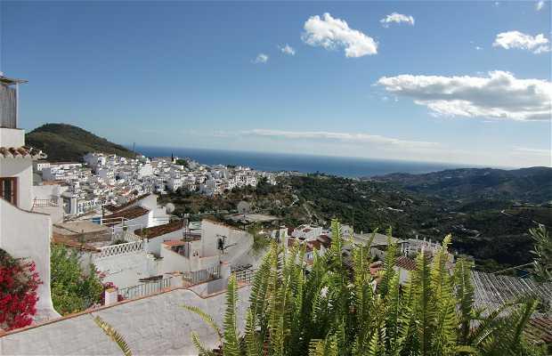 Vues panoramiques de Frigliana