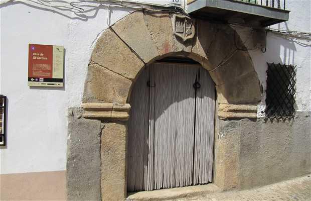 Casa de Gil Cordero