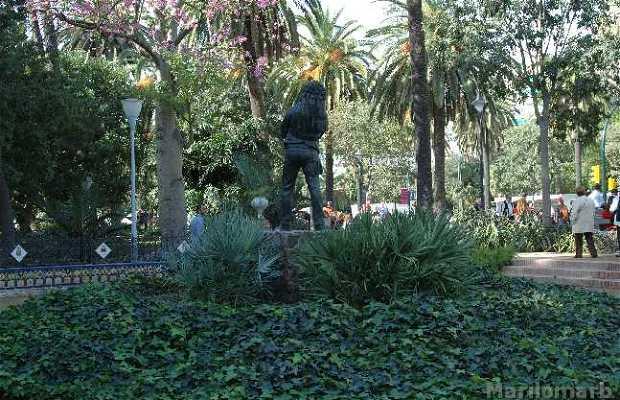 Statua del Fiestero a Malaga