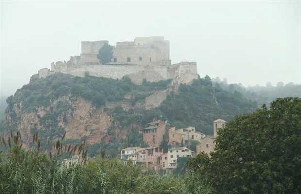 Paso del Ebro en coche hacía Miravet