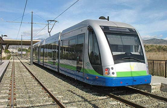 Tramway de Vélez-Málaga à Torre del Mar