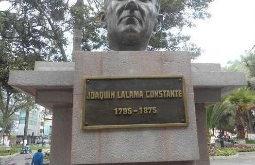 Estatua Joaquin Lalama Constante