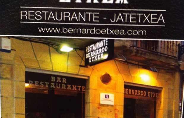 Bernardo Etxea Restaurant