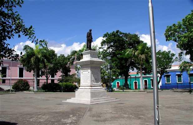 Piazza Bolivar in Venezuela