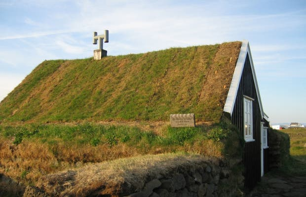 Casa de turfa islandesa