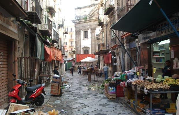 Ballarò Street Market