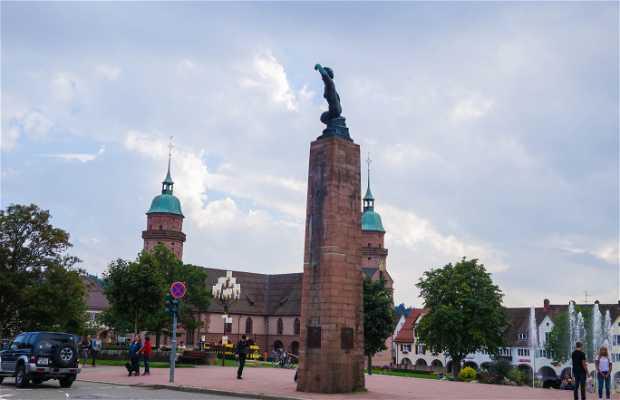 Memorial de la reconstrucción de Freudenstadt