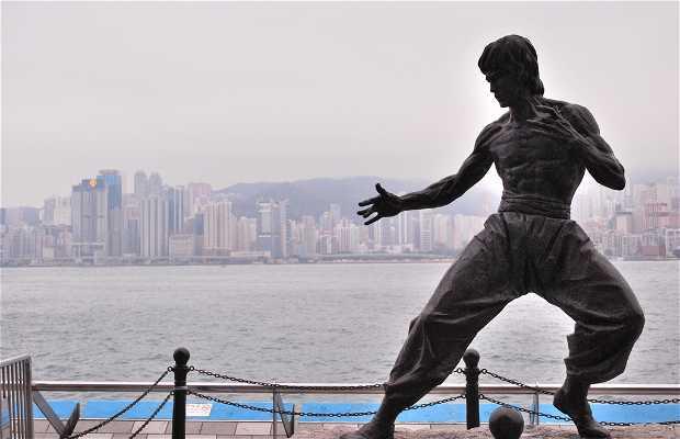 Monumento a Bruce Lee di Hong Kong