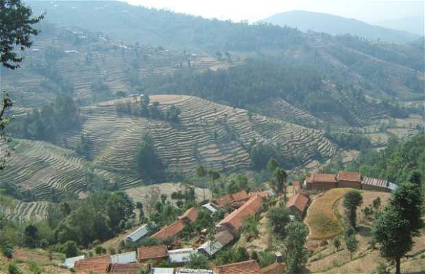 Aldeas en el Valle de Katmandu