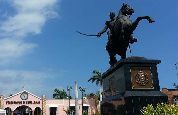 Plaza Bolívar de Catia La Mar