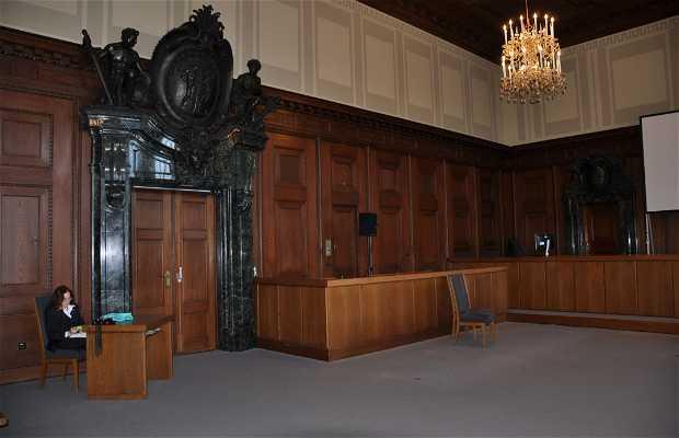 Memorial de los juicios de n remberg en nuremberg 1 for Sala 600 nuremberg