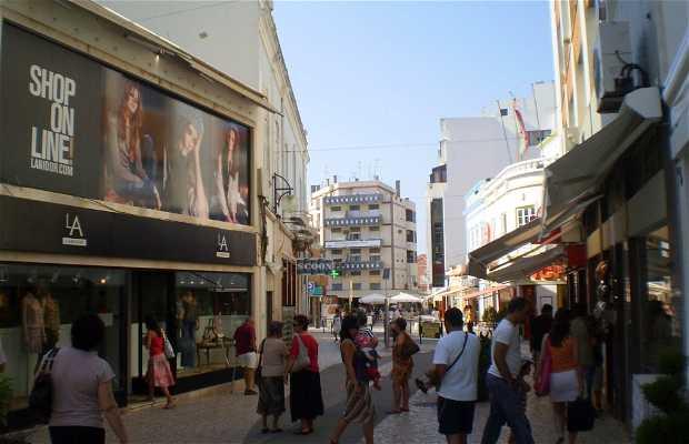 Calles comerciales de Portimão