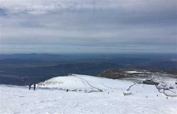 El Pico Calvitero y su nevero casi perpetuo